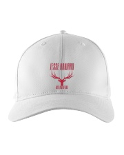 Outlaw Red Embroidered Hat thumbnail