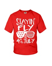 Fourth of July Tshirt Youth T-Shirt front