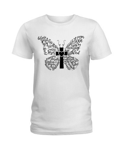 Christian Butterfly Words