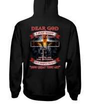 Dear God i Just want to say Hooded Sweatshirt thumbnail