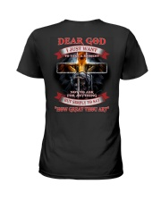 Dear God i Just want to say Ladies T-Shirt thumbnail