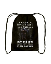 I Took A DNA Test And God Is My Father Drawstring Bag thumbnail