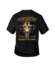 I Would Rather Stand With God Youth T-Shirt thumbnail
