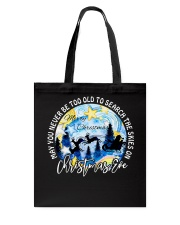 MAY YOU NEVER TOO OLD TO SEARCH THE SKIES Tote Bag thumbnail