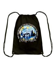 MAY YOU NEVER TOO OLD TO SEARCH THE SKIES Drawstring Bag thumbnail