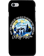 MAY YOU NEVER TOO OLD TO SEARCH THE SKIES Phone Case thumbnail