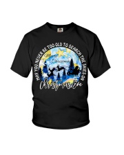 MAY YOU NEVER TOO OLD TO SEARCH THE SKIES Youth T-Shirt thumbnail