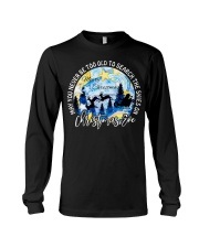 MAY YOU NEVER TOO OLD TO SEARCH THE SKIES Long Sleeve Tee thumbnail