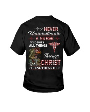 Never Underestimate a Nurse Youth T-Shirt thumbnail