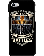 Prayer Is The Best Weapon Phone Case thumbnail