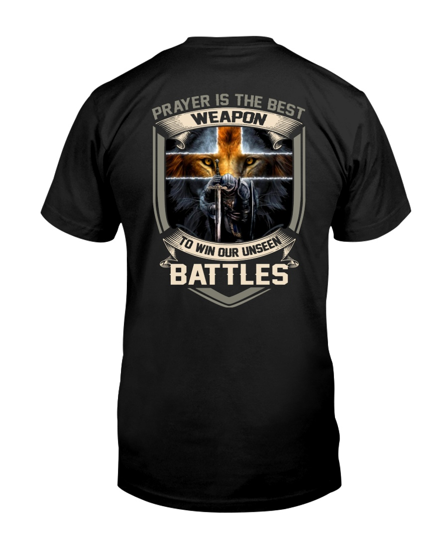 Prayer Is The Best Weapon Classic T-Shirt