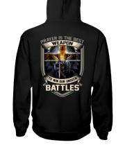 Prayer Is The Best Weapon Hooded Sweatshirt thumbnail