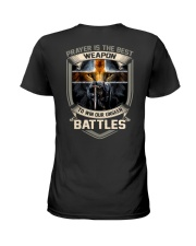Prayer Is The Best Weapon Ladies T-Shirt thumbnail