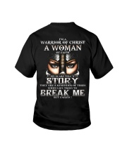 I Am A Warrior of God Youth T-Shirt thumbnail