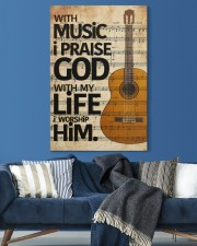 Guitar With Music I pray God 20x30 Gallery Wrapped Canvas Prints aos-canvas-pgw-20x30-lifestyle-front-06