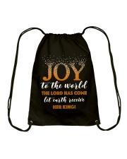 Joy To The World Drawstring Bag thumbnail