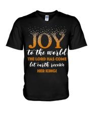 Joy To The World V-Neck T-Shirt thumbnail