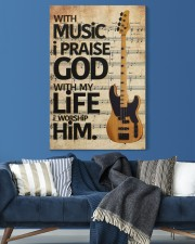 With Music I Praise God  Bass Guitar 20x30 Gallery Wrapped Canvas Prints aos-canvas-pgw-20x30-lifestyle-front-06
