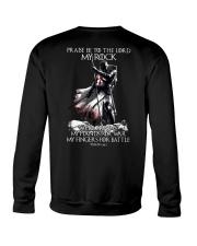 praise be to the lord Kight Templar Crewneck Sweatshirt thumbnail