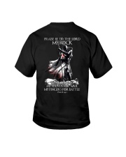 praise be to the lord Kight Templar Youth T-Shirt thumbnail