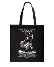 praise be to the lord Kight Templar Tote Bag thumbnail