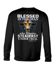 Blessed Is The Man Crewneck Sweatshirt thumbnail
