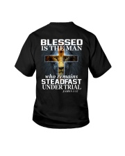 Blessed Is The Man Youth T-Shirt thumbnail