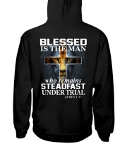 Blessed Is The Man Hooded Sweatshirt thumbnail