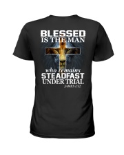 Blessed Is The Man Ladies T-Shirt thumbnail