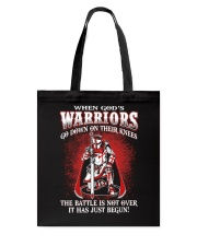 when god warrior go down Tote Bag thumbnail