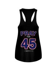 Pray for 45 Ladies Flowy Tank thumbnail