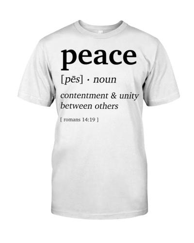 Peace Definition Bible Verse