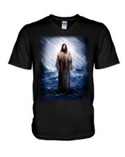 Jesus V-Neck T-Shirt tile