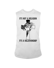 It's Not A Religion It's A Relationship Sleeveless Tee thumbnail