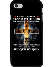 I Would Rather Stand With God Phone Case thumbnail
