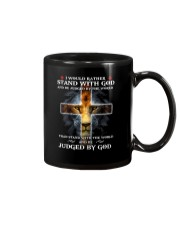 I Would Rather Stand With God Mug thumbnail