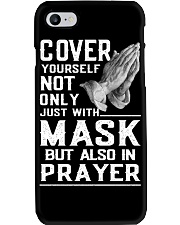 Cover Yourself also in prayer Phone Case thumbnail