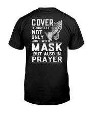 Cover Yourself also in prayer Classic T-Shirt back