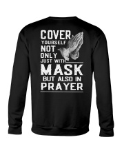 Cover Yourself also in prayer Crewneck Sweatshirt thumbnail