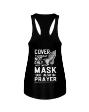 Cover Yourself also in prayer Ladies Flowy Tank thumbnail