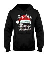 Santa's Favorite Massage Therapist  Hooded Sweatshirt thumbnail
