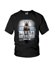 Jesus Is The Answer Youth T-Shirt thumbnail