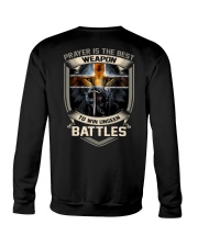 Prayer Is The Best Weapon Crewneck Sweatshirt thumbnail