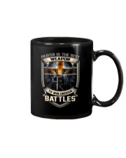 Prayer Is The Best Weapon Mug thumbnail