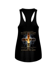 I Would Rather Stand With God Ladies Flowy Tank thumbnail