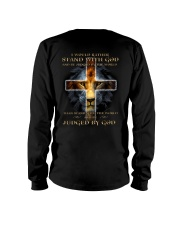 I Would Rather Stand With God Long Sleeve Tee thumbnail
