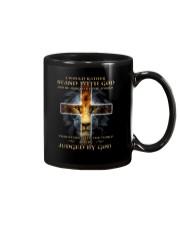 I Would Rather Stand With God Mug thumbnail