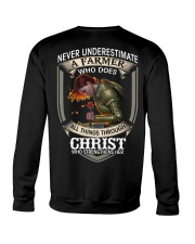 Never Underestimate  A Farmer Crewneck Sweatshirt thumbnail