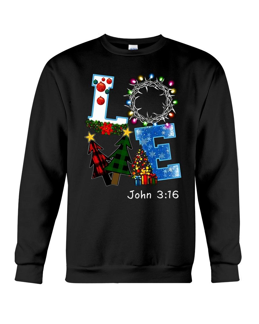 LOVE john 3-16 Crewneck Sweatshirt