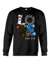 LOVE john 3-16 Crewneck Sweatshirt front